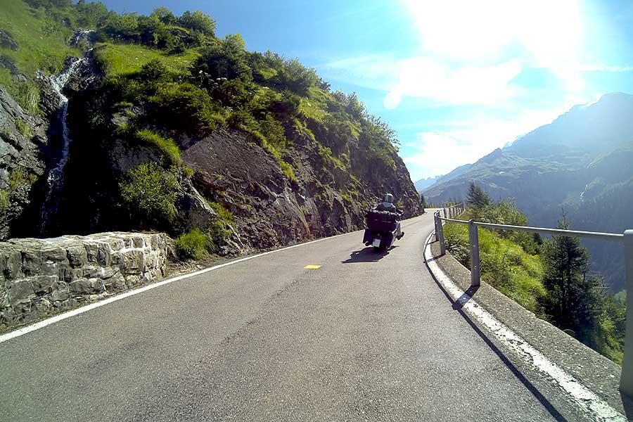 Motorradreise Vogesen, Schwarzwald und Schweiz