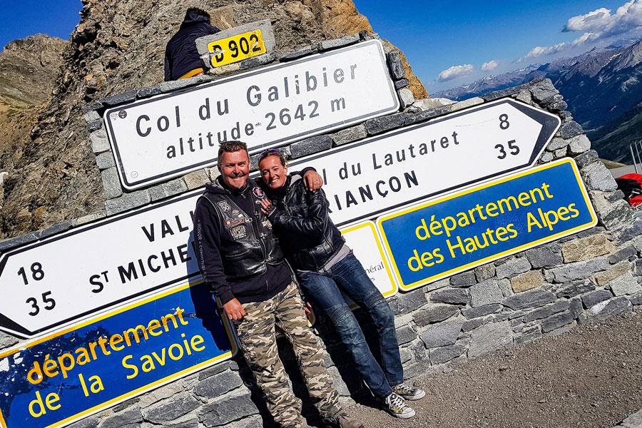 Motorradreise Les Grandes Alpes