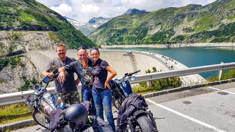 Motorradreise Alpen