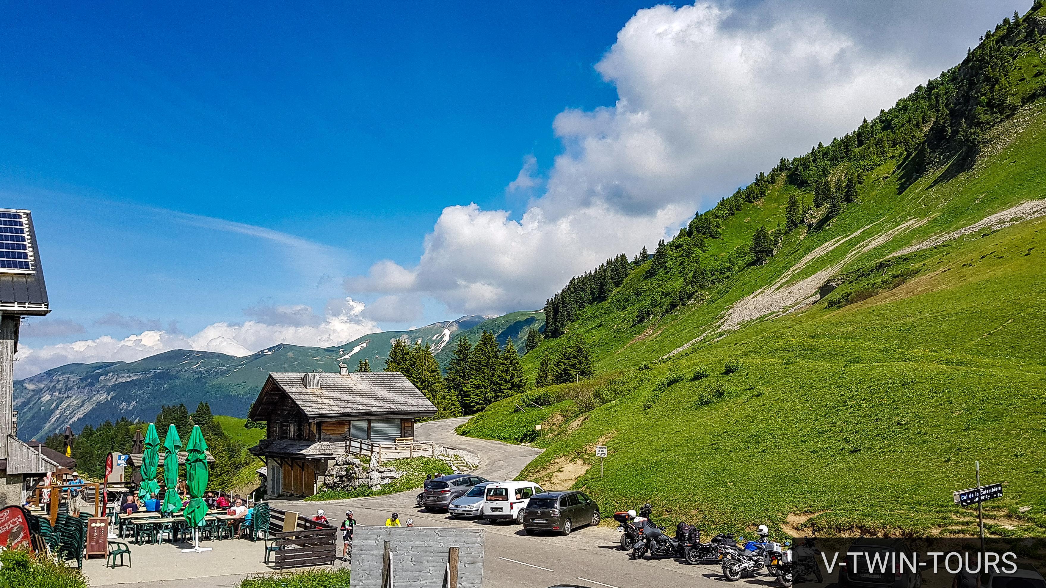 Motorradurlaub französische Alpen